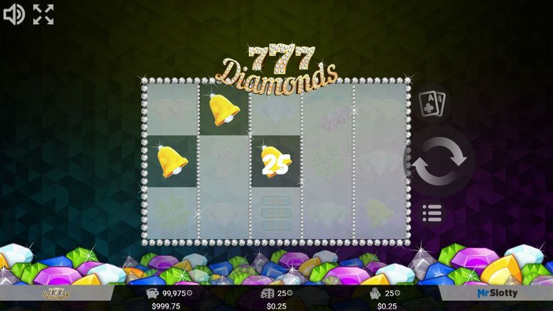 777 Diamonds play online casino slots