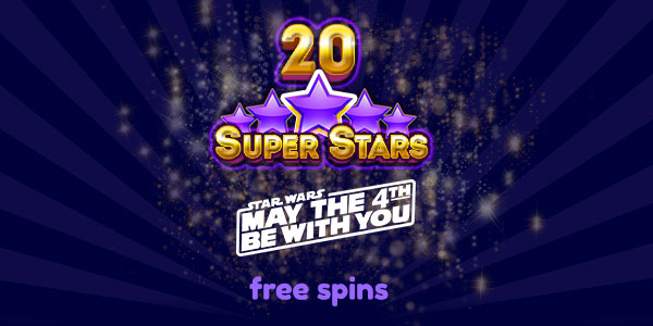 May the 4th Be With You Free Spins